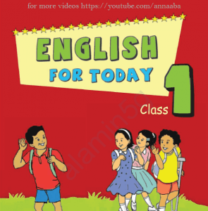 English for today class 1