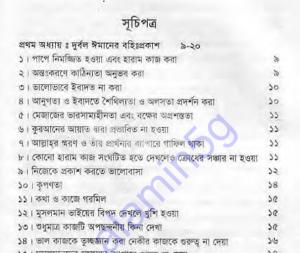 ঈমানী দুর্বলতা pdf বই ডাউনলোড