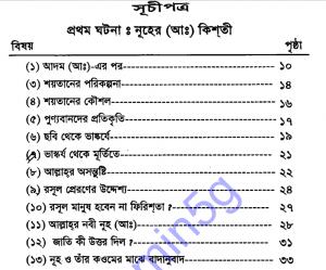 কাছাছুন নাবিয়্যিন ২য় খন্ড pdf বই ডাউনলোড