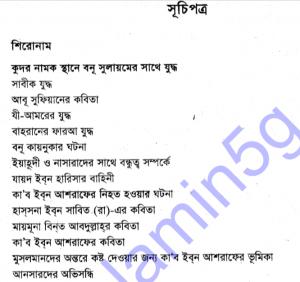 সীরাতুন নবী ৩য় খন্ড pdf বই ডাউনলোড