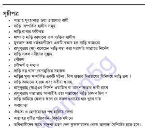 ইসলামী শরীয়াতে দাড়ির পদমর্যাদা pdf বই ডাউনলোড