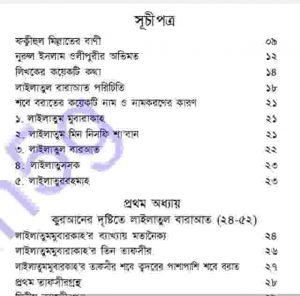কুরআন হাদীসের আলোকে শবে বরাত pdf বই