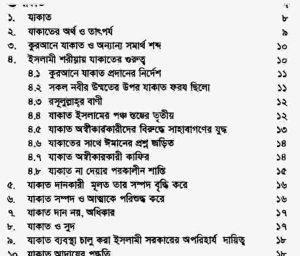যাকাত সাওম ইতেকাফ pdf বই ডাউনলোড