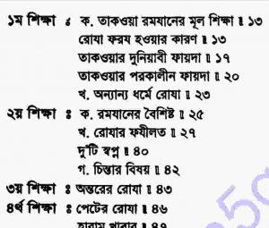 রমযানের তিরিশ শিক্ষা pdf বই ডাউনলোড