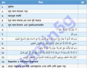 আল হিসনুল ওয়াকি pdf বই ডাউনলোড
