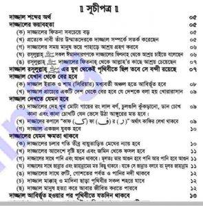 ওহীর আলোকে দাজ্জাল pdf বই ডাউনলোড