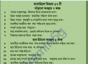 কুরআন সুন্নাহর আলোকে নবীজীর নামাজ pdf বই