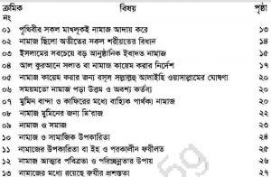 নামাজ ও সমাজ pdf বই ডাউনলোড