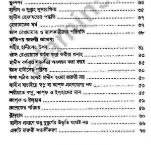প্রচলিত জাল হাদীস pdf বই ডাউনলোড