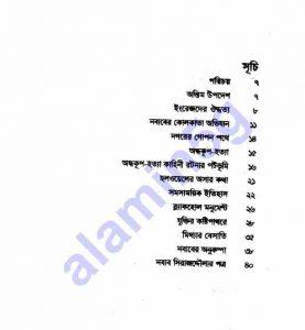 অন্ধকূপ হত্যা রহস্য pdf বই ডাউনলোড সুচীপত্র