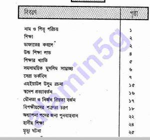 ইমাম গাজ্জালী রহ.pdf বই ডাউনলোড সুচীপত্র