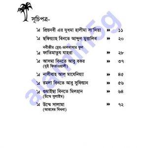 নারী সাহাবীদের ঈমানদীপ্ত pdf বই ডাউনলোড সুচীপত্র