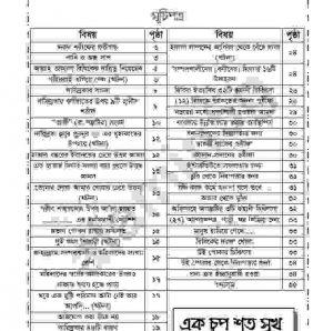 পাখিও অন্ধ সাপ pdf বই ডাউনলোড সুচীপত্র