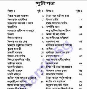 চার ইমামের জীবনী pdf বই ডাউনলোড সচীপত্র