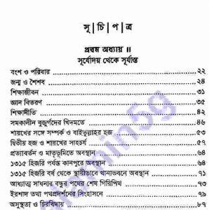 থানভী রহঃ জীবন কর্ম pdf বই ডাউনলোড সুচীপত্র