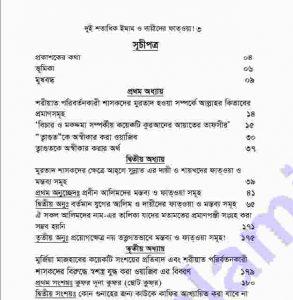 দুই শতাধিক ইমামদের ফতওয়া pdf বই ডাউনলোড সুচীপত্র