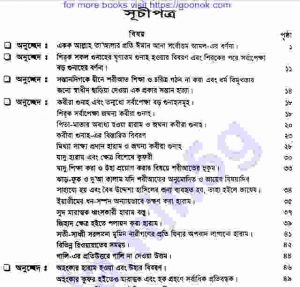সহীহ মুসলিম শরীফ ৩য়-খন্ড pdf বই ডাউনলোড সুচীপত্র