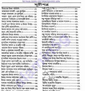 সহজ শরহে আকাইদ pdf বই ডাউনলোড সুচীপত্র